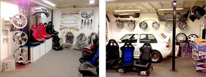 Empresa de venta de accesorios de tuning aleman para coche